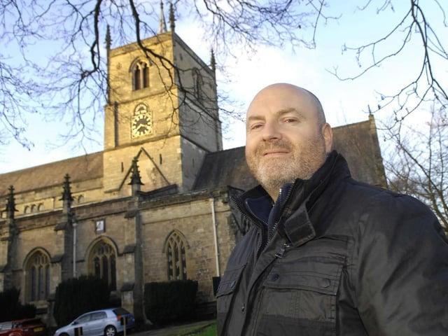 Father Gary Hinchcliffe -  The Team Rector at The Parish Church of St John the Baptist in Knaresborough.