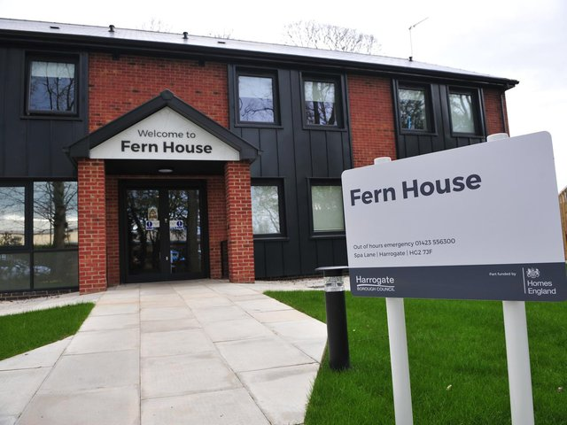 Helping single homeless people - Fern House in Harrogate.