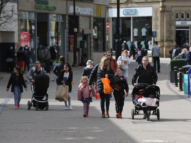 Far from being cautious, the Harrogate public have come back in their hundreds to the town centre to shop, eat or drink since Monday's easing of lockdown.