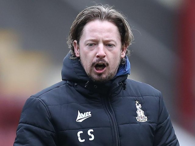 Conor Sellars, joint manager of Bradford City. Picture: Getty Images