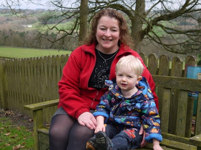 Donna Griffiths, new deputy manager of Harrogate's Belmont Grosvenor School's Magic Tree Nursery.