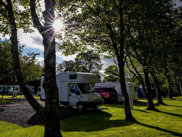 Motorhomes are being targeted in North Yorkshire, according to police.
