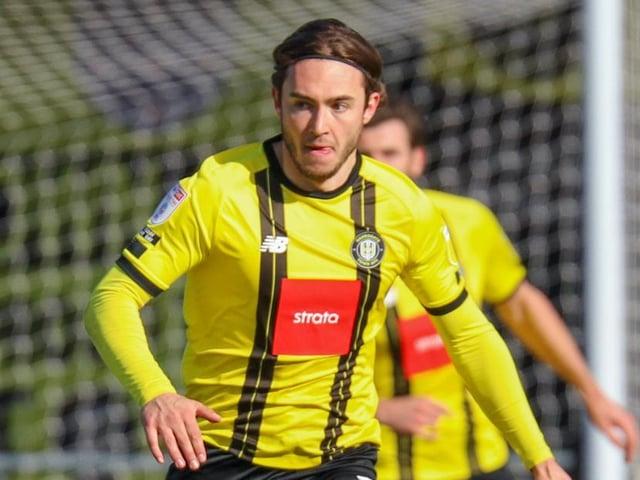 Harrogate Town defender Dan Jones. Pictures: Matt Kirkham