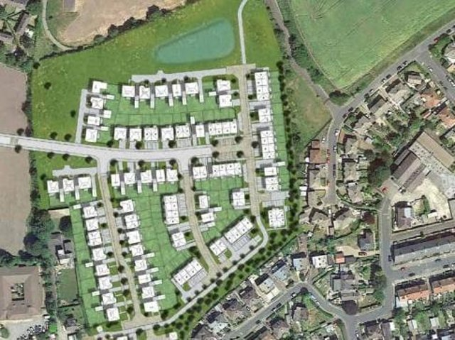 These are the now-approved plans for Granby Farm. Photo: Redrow Homes.