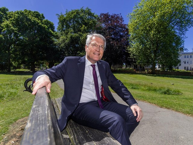 Harrogate and Knaresborough MP Andrew Jones has taken the rare step of approaching the Duchy of  Lancaster on behalf of the hospitality sector in a wrangle over the Stray.