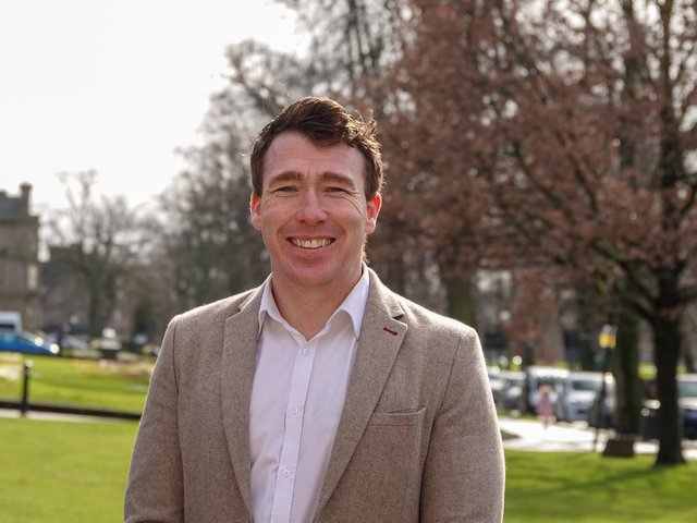 """Harrogate BID's new manager Matthew Chapman - """"Harrogate is in a superb place to move forward when the end of Covid lockdown comes."""""""