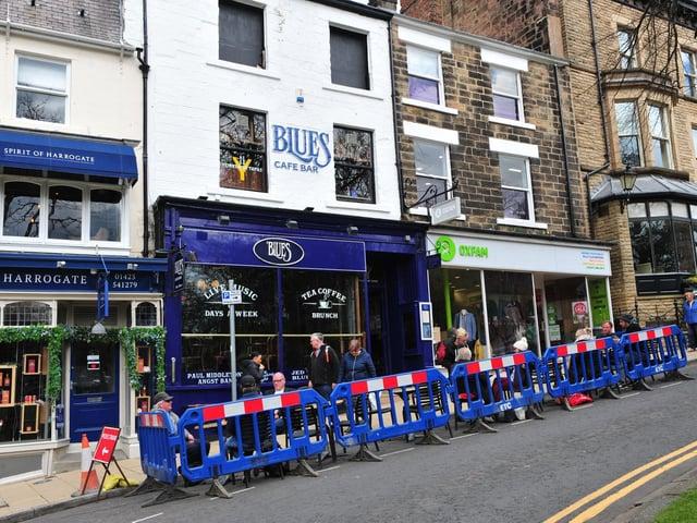 The Blues Bar in Harrogate.