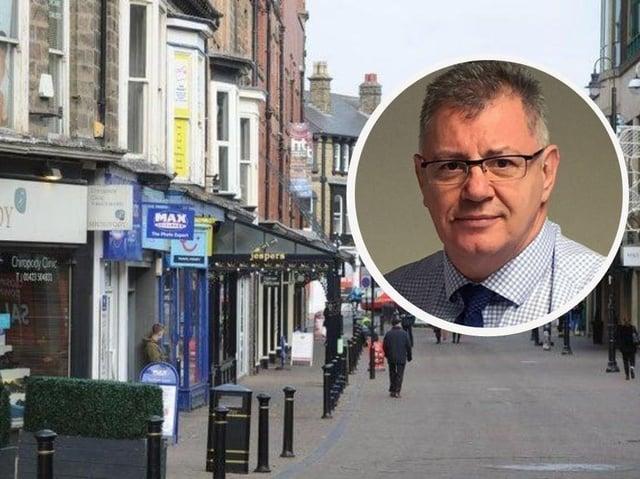 Councillor Graham Swift, deputy leader and cabinet member for resources, enterprise and economic development at Harrogate Borough Council.