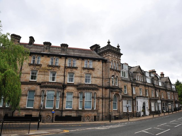 The historic St George Hotel in Harrogate is one of four North Yorkshire hotels, which were formerly part of Shearings Hotels group, which will reopen as lockdown eases.