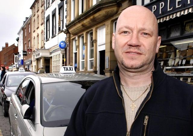 Taxi driver Richard Fieldman.