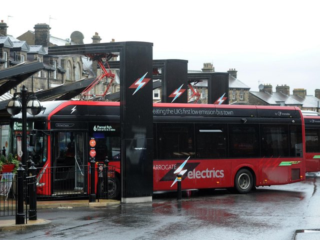 The Harrogate Bus Company has launched a new service to Skipton. Picture: Transdev.