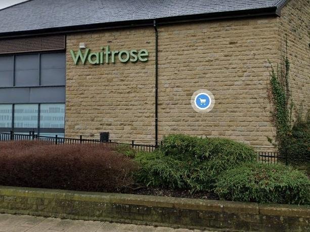 Waitrose has partnered with Deliveroo in Harrogate.