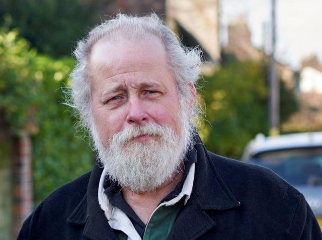 Green Party candidate Arnold Warneken.