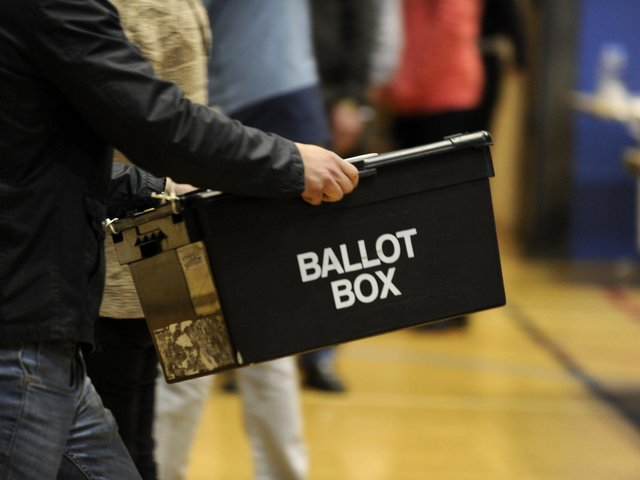 The polls open in Harrogate this week.