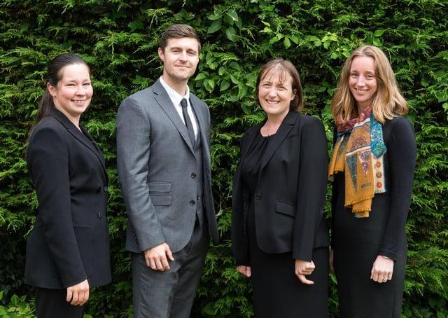 The Full Circle team: Nicola Sutton, David Billington, Ruth Owen and founder Sarah Jones. PHOTO: Suzy Mitchell.