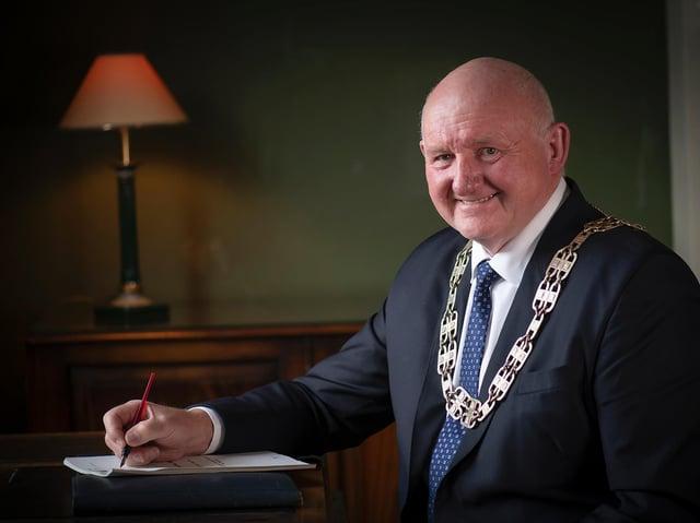 North Yorkshire County Council has chosen former Harrogate mayor councillor Stuart Martin as its new chairman.