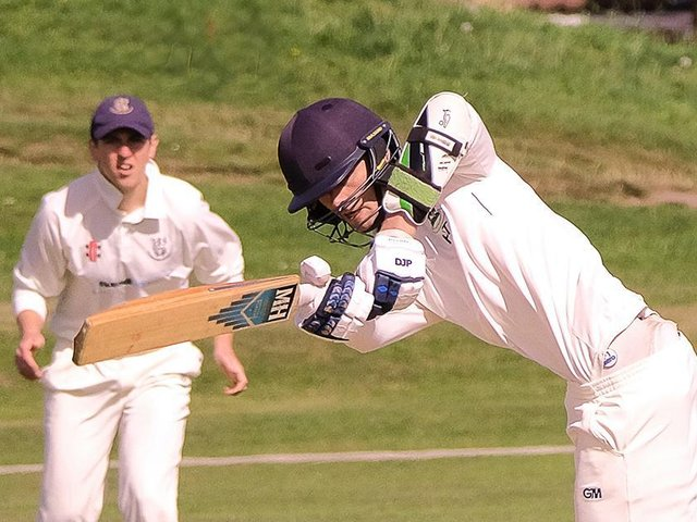 Harrogate CC 1st XI opening batsman Henry Thompson was in the runs once again. Picture: Richard Bown