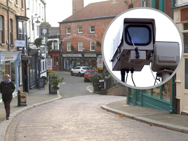 The CCTV camera will be moved to different locations where reports of anti-social behaviour and crime are at their highest.