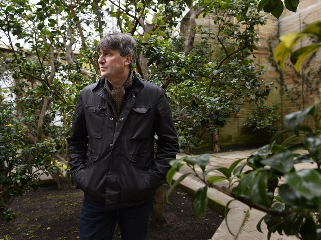Ripon Poetry Festival guest - Poet Laureate Simon Armitage pictured when he was Yorkshire Sculpture Park's poet in residence for 2017. (Picture by Bruce Rollinson)