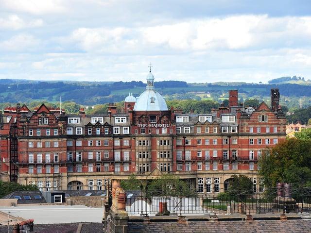 The Majestic Hotel in Harrogate. Photo credit: JPIMedia