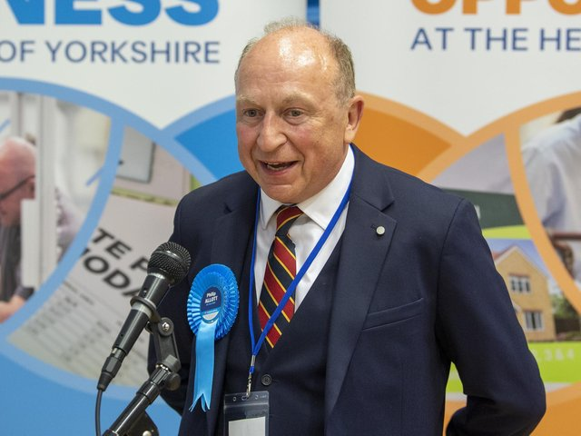 Philip Allott is the new North Yorkshire Police, Fire and Crime Commissioner.