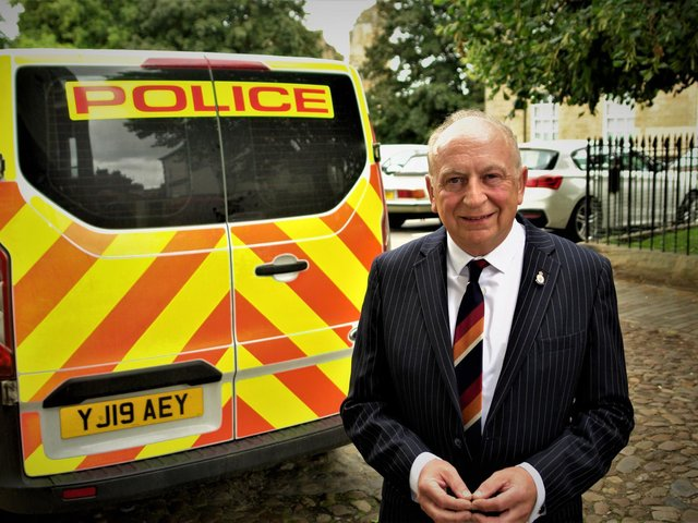 Philip Allott, the Conservative candidate, who has been elected as North Yorkshire and York Police, Fire and Crime Commissioner.