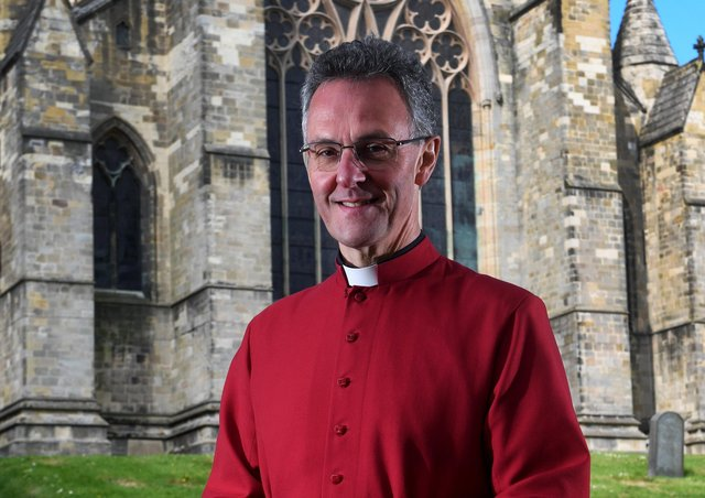 The Dean of Ripon John Dobson pictured at Ripon Cathedral. Picture by Simon Hulme