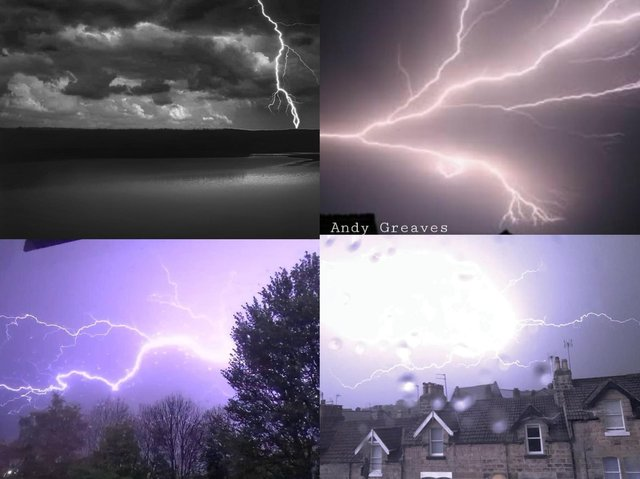 These 12 images show lightning in the Harrogate district.