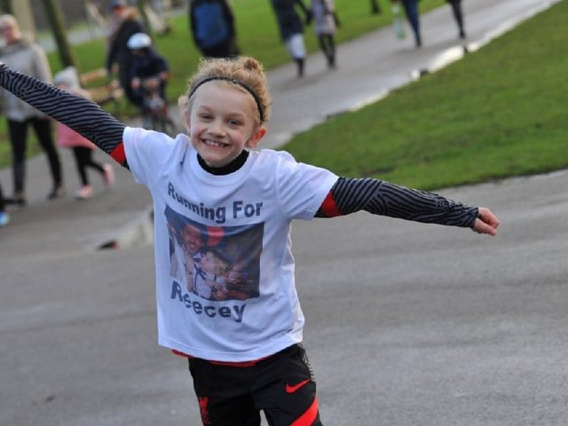 Nine-year-old Jordan Banks was taking part in a one to one football training session on the Common Edge playing fields in Blackpool when he was reportedly hit by lightning