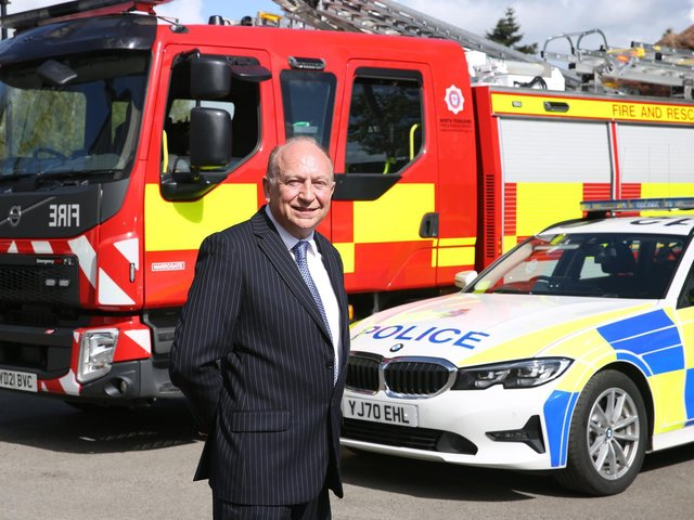 New North Yorkshire and York Police, Fire and Crime Commissioner Philip Allott.