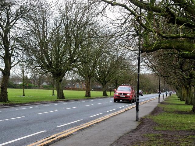 Oatlands Drive in Harrogate.