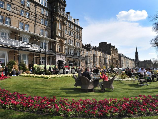 The Yorkshire Hotel's Ales in the Dales outdoor seating will end next week as lockdown eases after being hailed a great success in Harrogate.