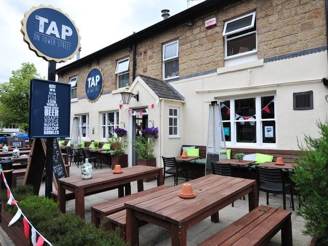 Award-winning Harrogate pub The Tap on Tower Street.