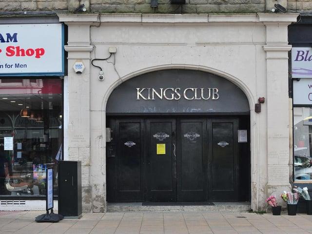 Kings Club on Oxford Street.