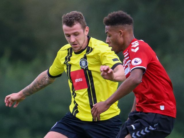 Joe Leesley did not feature for Harrogate Town during their debut League Two campaign. Pictures: Matt Kirkham