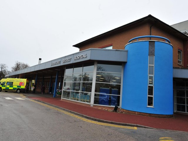People are being urged to think carefully before attending the Emergency Department at Harrogate District Hospital.