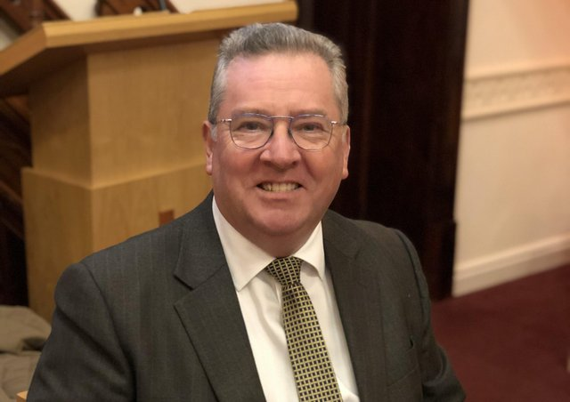 The new mayor of Wetherby Neil O'Byrne