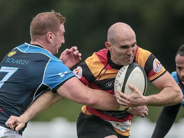 Harrogate RUFC director of rugby, Dave Doherty. Picture: Caught Light Photography