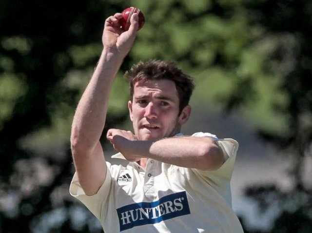 Helperby CC captain Dan Marston in action. Picture: Caught Light Photography