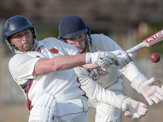 Ryan Bradshaw's half-century helped Bilton CC make it four wins in as many completed fixtures in 2021. Picture: Caught Light Photography