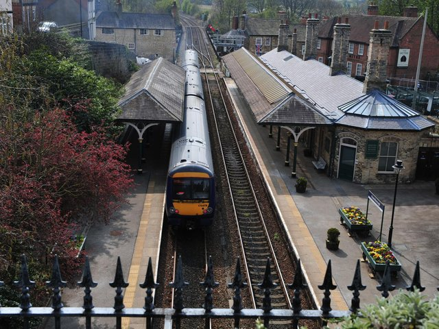 Disruption is planned for trains between Leeds, Harrogate and Knaresborough on Sunday,