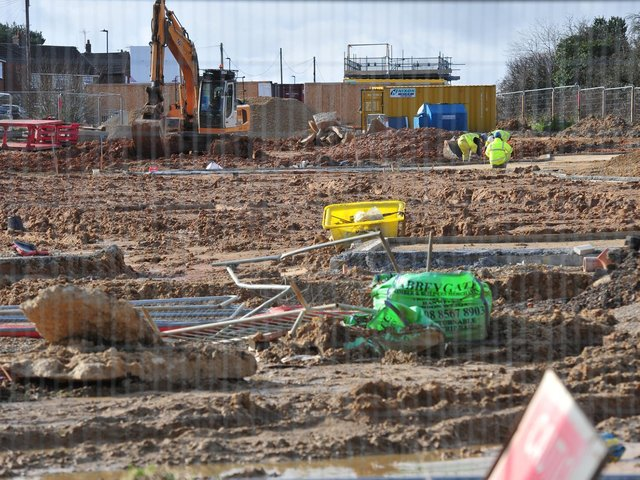 Kingsley Ward Action Group is complaining about heavy truck movements in their part of Harrogate during more than two years of new house building.