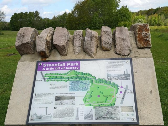 HASAG says it thrilled that the information board in Stonefall Park in Harrogate has now been restored.