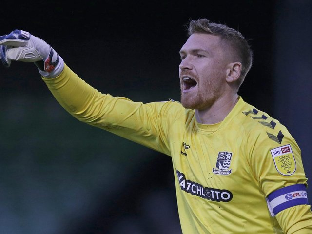 Southend United goalkeeper Mark Oxley. Pictures: Getty Images