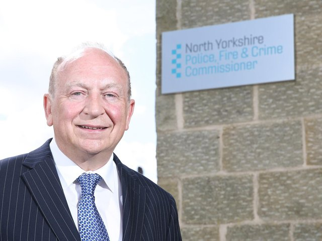 """North Yorkshire Police, Fire and Crime Commissioner Philip Allott said: """"Too many still believe that because North Yorkshire is picturesque and rural, that drugs are not a problem here."""""""