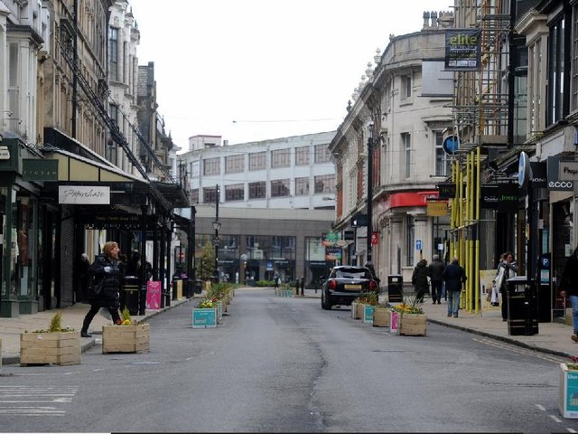 The Gateway Project includes the pedestrianisation of James Street.