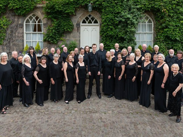 Harrogate's Vocalis Choir, pictured before the Covid pandemic hit, have been unable to rehearse indoors. (Picture by Ian Hill)