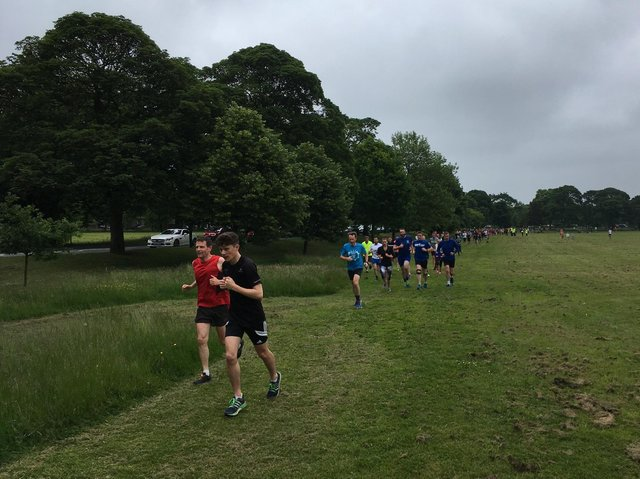 Flashback to a Parkrun on the Stray in Harrogate before the Covid pandemic.