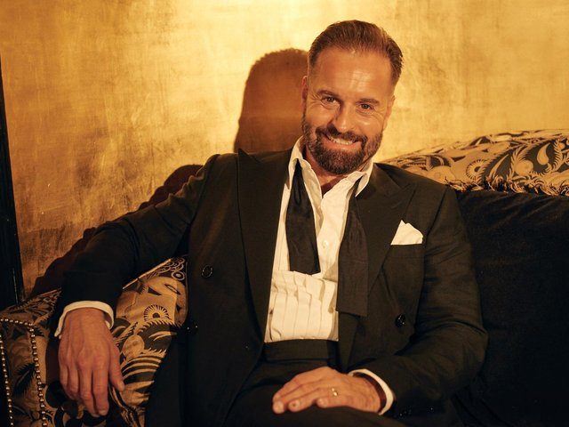 Much-loved singer Alfie Boe who is set to perform outdoors at Harewood House near Leeds.