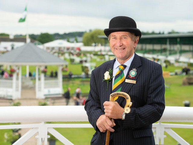 Tickets on sale today - The Great Yorkshire Show's Honorary Show Director Charles Mills.